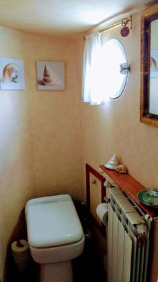 Forward Cabin Toilet