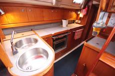 Moody 35 galley