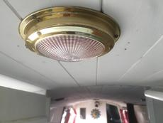 LED lighting throughout the boat