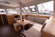 saloon view from starboard