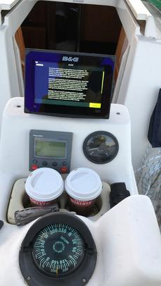 Cockpit instrument console