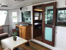 Aft Deck - Door to Salon