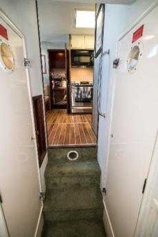 Facing Forward from Companionway
