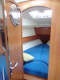 v berth in the bows