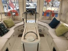 Cockpit with camper top on