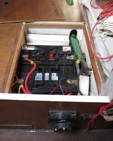 Battery locker