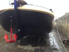 Drydock 2015, view of bow