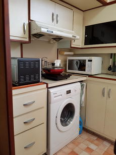 Galley Hobs and washing