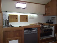 Galley 2 burner stove & grill