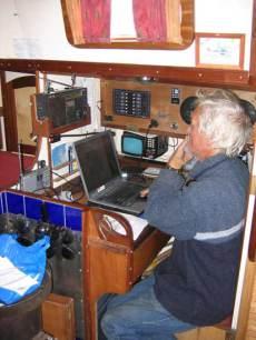 emailing at nav station