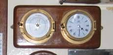 clock, barometer