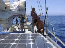 3 solar panels (total 175 watts)