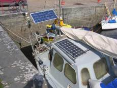 other solar panels, steering gear etc