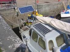other solar panels, steering gear etc