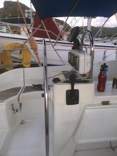 Binnacle & Extending Cockpit Table