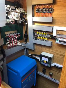Victron Inverter and electric cupboard