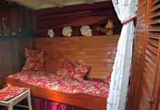 Simple berths cabin