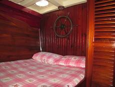 Double berth cabin