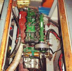 Reliable Diesel Lister LPW 4 Cylinder Engine