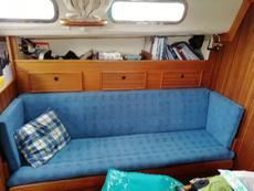 Port saloon makes double berth