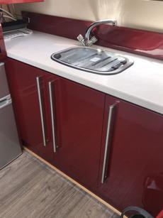Mixer tap, pump out, Marco gas boiler.