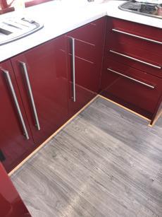 Sufficient kitchen storage