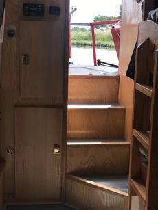 More storage cupboards, bunk beds