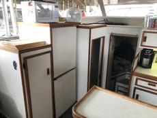 Galley - Cupboard, Fridge/Freezer