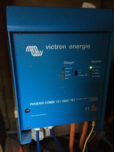 Victron inverter/charger/battery management system
