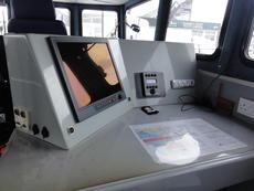 Starboard navigators position