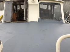 flybridge deck. could be canopied
