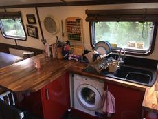 Washing maching (requires generator to run)