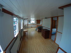 Dining area to Lounge from Galley