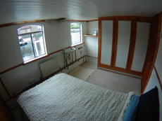 Main bedroom on upper deck