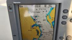 Chartplotter/radar on flybridge