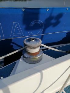 Starboard Genoa sheet winch Lewmar42 Two speed