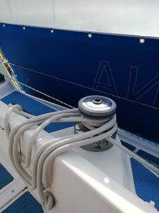 Port Genoa sheet winch Lewmar 42 two speed