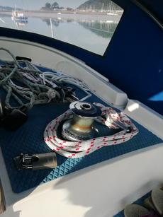Halyard winch Lewmar 30 two speed