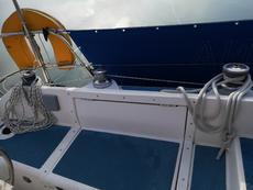 Port side winches