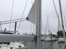 Furling main sail