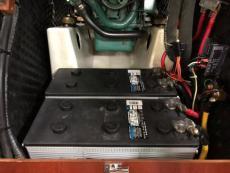 Two 4D AGM batteries