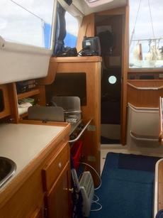 Looking aft in saloon