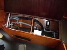 Boiler and pump locker