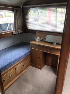 Aft bedroom x two singles