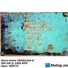 Volvo Penta TAMD163A-A