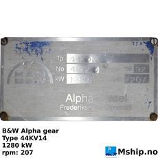 b&w 44kv13 CPP gear