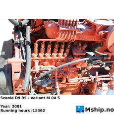 Scania D9 95 generator set