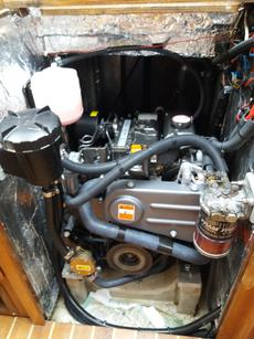 Engine instalation