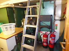 Bowthruster room extingishers 1 and 2