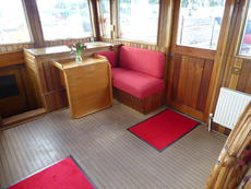 Wheelhouse looking aft